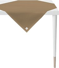 Tablecloth Apelt Colour: Brown, Size: 150cm W x