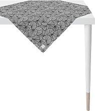 Tablecloth Apelt Colour: Dark grey