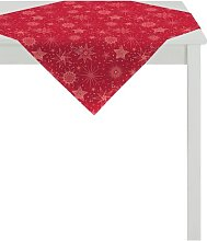 Tablecloth Apelt Colour: Red/Silver