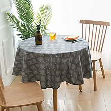 Tablecloth Black Small Tree Tablecloth Small Round