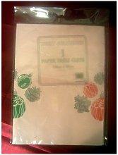 Tablecloth Christmas Design Baubles