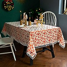 Tablecloth Christmas Party Tablecloths with a Gold