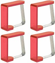 Tablecloth Clamp Symple Stuff Colour: Red