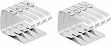 Tablecloth Clips,Tablecloth Clamps 8 Pack
