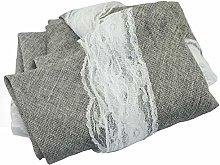 Tablecloth Imitation Cotton Linen Retro Dining