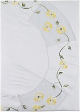 Tablecloth Lily Manor Colour: Yellow