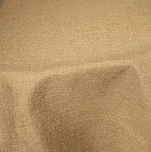 Tablecloth Oval 160x260cm Coated Linen Effect