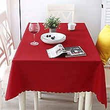 Tablecloth- Polyester Fiber Solid Color Hotel
