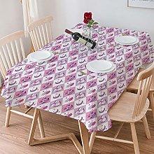 Tablecloth Rectangle Cotton Linen,Baby,Rectangle