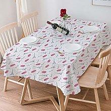 Tablecloth Rectangle Cotton Linen,Eiffel,Famous