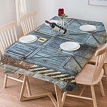 Tablecloth Rectangle Cotton Linen,Industrial