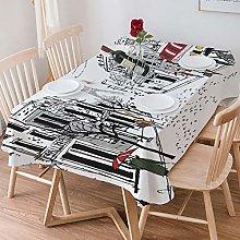 Tablecloth Rectangle Cotton Linen,Paris