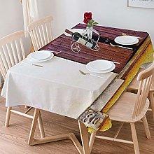 Tablecloth Rectangle Cotton Linen,Shutters
