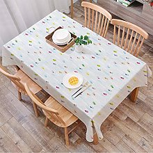 Tablecloth Rectangle Table Cloth Cotton Linen
