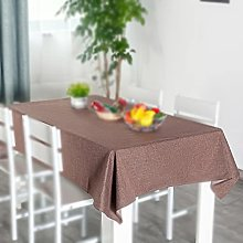 Tablecloth, Rectangle Table Covers, Cotton Linen
