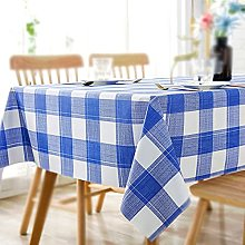 Tablecloth, Rectangle Table Covers, PVC Checkered