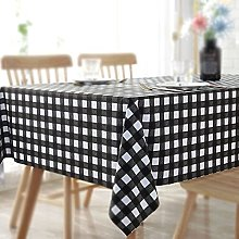 Tablecloth, Rectangle Table Covers, PVC Plastic No
