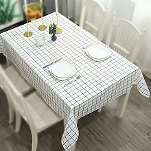 Tablecloth, Rectangle Table Covers, PVC Plastic