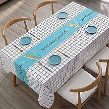 Tablecloth Rectangular,Pvc Oblong Table Cloth,Art