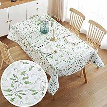 Tablecloth Rectangular Waterproof Oil Proof Wipe