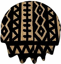 Tablecloth Round 50 Inch Table Cover African Mud