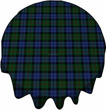 Tablecloth Round 54 Inch Table Cover Scottish Clan