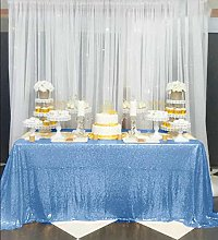 Tablecloth Round Sequin Tablecloth Round Glitter