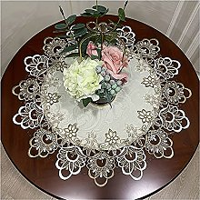 Tablecloth Round Shape Lace Tablecloth with