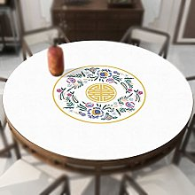 Tablecloth, Round Table Covers,PU Leather Table