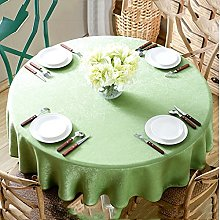 Tablecloth simple solid color round tablecloth