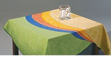 Tablecloth Symple Stuff Colour: Green marble,