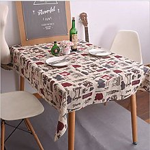 Tablecloth Tablecloth Iron Tower Kiosk Dining