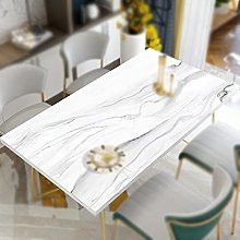 Tablecloth, TPU Leather Table Protector, Rectangle
