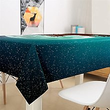 Tablecloth Waterproof and oil-proof tablecloth 3D