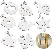 Tablecloth Weight with Clips, Stainless Steel