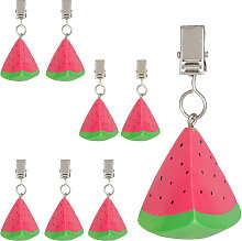 tablecloth weights, watermelon design, set of 8,