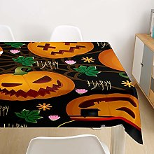 Tablecloth Wipe Clean Rectangle,Chickwin Halloween