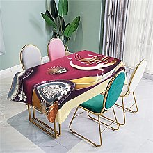 Tablecloth With Table Runner Polyester Tablecloth
