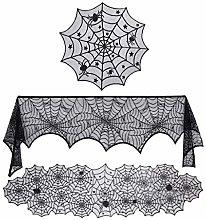 Tablecloths 3 Pieces Halloween Decorations Set