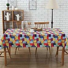 Tablecloths Rectangle, DOTBUY Polyester cotton