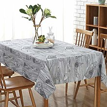 Tablecloths Rectangle, DOTBUY Solid Linen Square