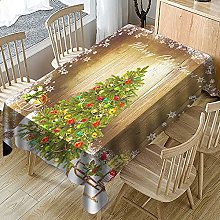 Tablecloths Rectangular,Christmas Table Cloth