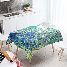 Tablecloths Rectangular, Enhome Waterproof