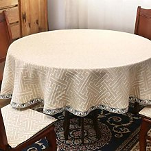 Tablecloths Round Tablecloth Chinese Style Coffee