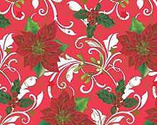 TableclothsWorld Christmas PVC Vinyl Wipe Clean