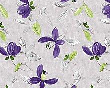 TableclothsWorld Flowers Leaves PVC Vinyl Wipe