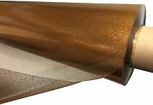 TableclothsWorld Gold Sparkle Glitter Clear