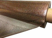 TableclothsWorld Rainbow Sparkle Glitter Clear