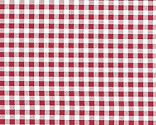 TableclothsWorld Red Check PVC Vinyl Wipe Clean