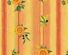 TableclothsWorld Sunflowers Lemons Olives PVC